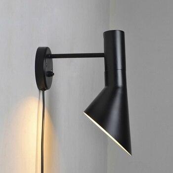 wall lights 100% replica AJ wall lamp black white bedroom wall lighting