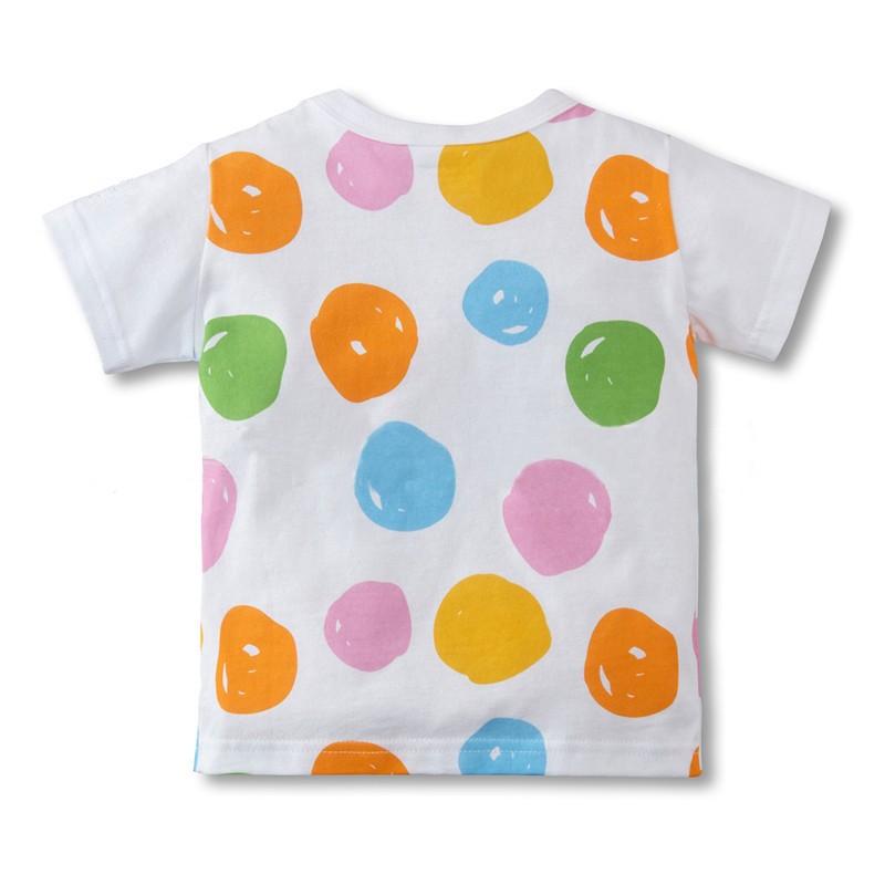 HTB1WfaPLVXXXXa.XFXXq6xXFXXXn - Wholesale Children's Clothing Boys Girls T-shirts Creative Summer Casual Tops Tees Cartoon Cotton Kids Baby Clothes
