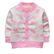 2018 Baby Children Clothing Newborn Boys Girls Knitted Cardigan Sweater Kids Spring