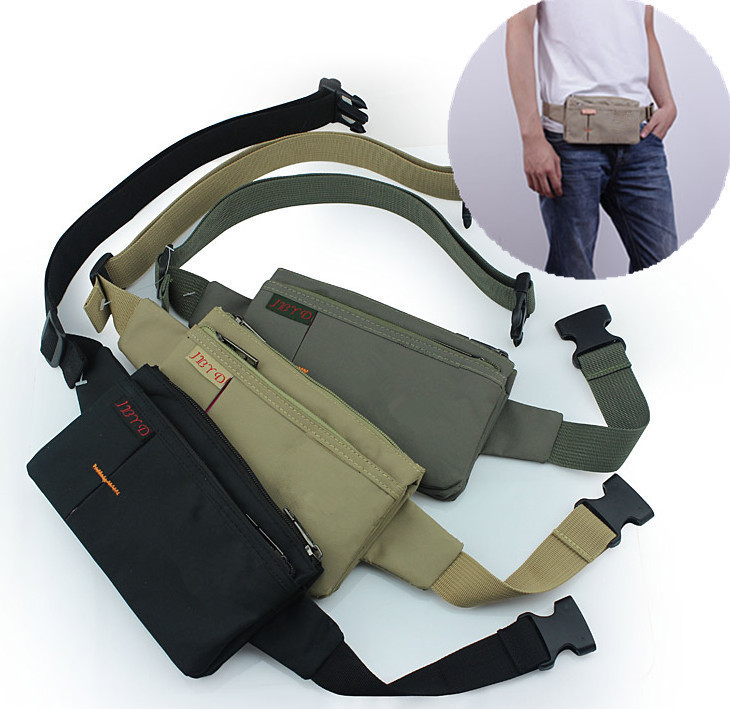 3pcs Lot Travel Passport Ticket Phone Running Riding Security Sling Waist  Bag Pouch Money Belt ec2a3fd521d0