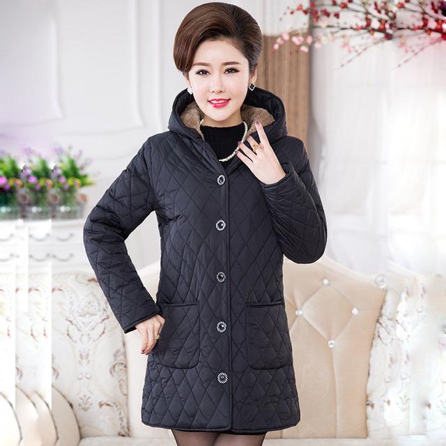Plus Size Woman New winter jacket