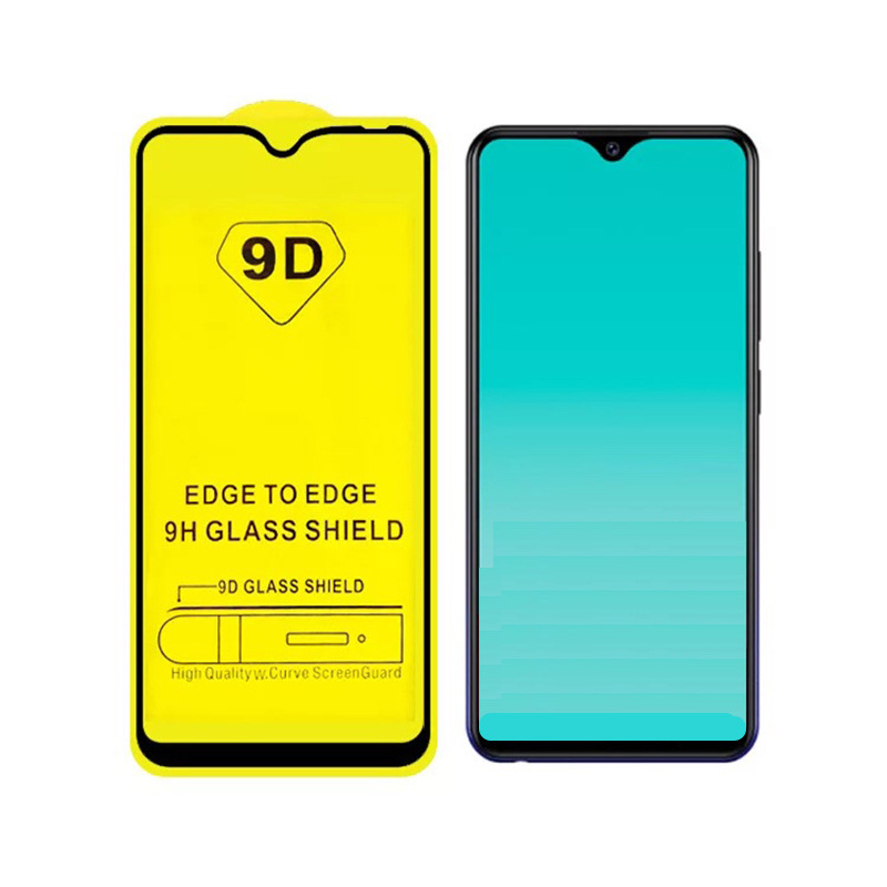 200 PCS 9D Full Cover Tempered Glass for Huawei P Smart Plus Y5 Y6 Y9 2019