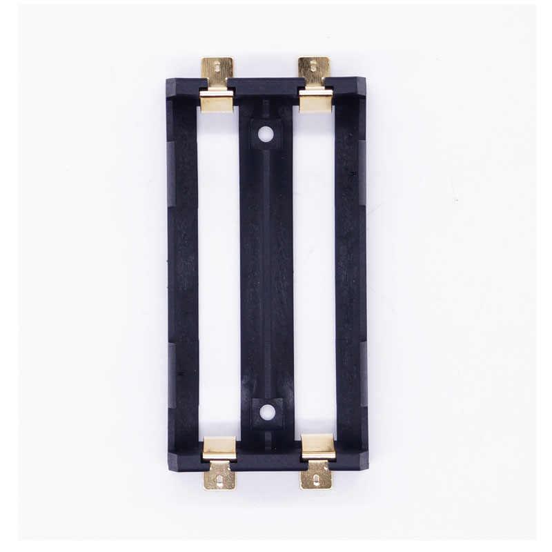 10 шт./лот Best качество Dual Bay 18650 аккумулятор сани SMT/SMD держатель батареи зарядное устройство для 18650 3.7 В аккумуляторная литиевых батарей