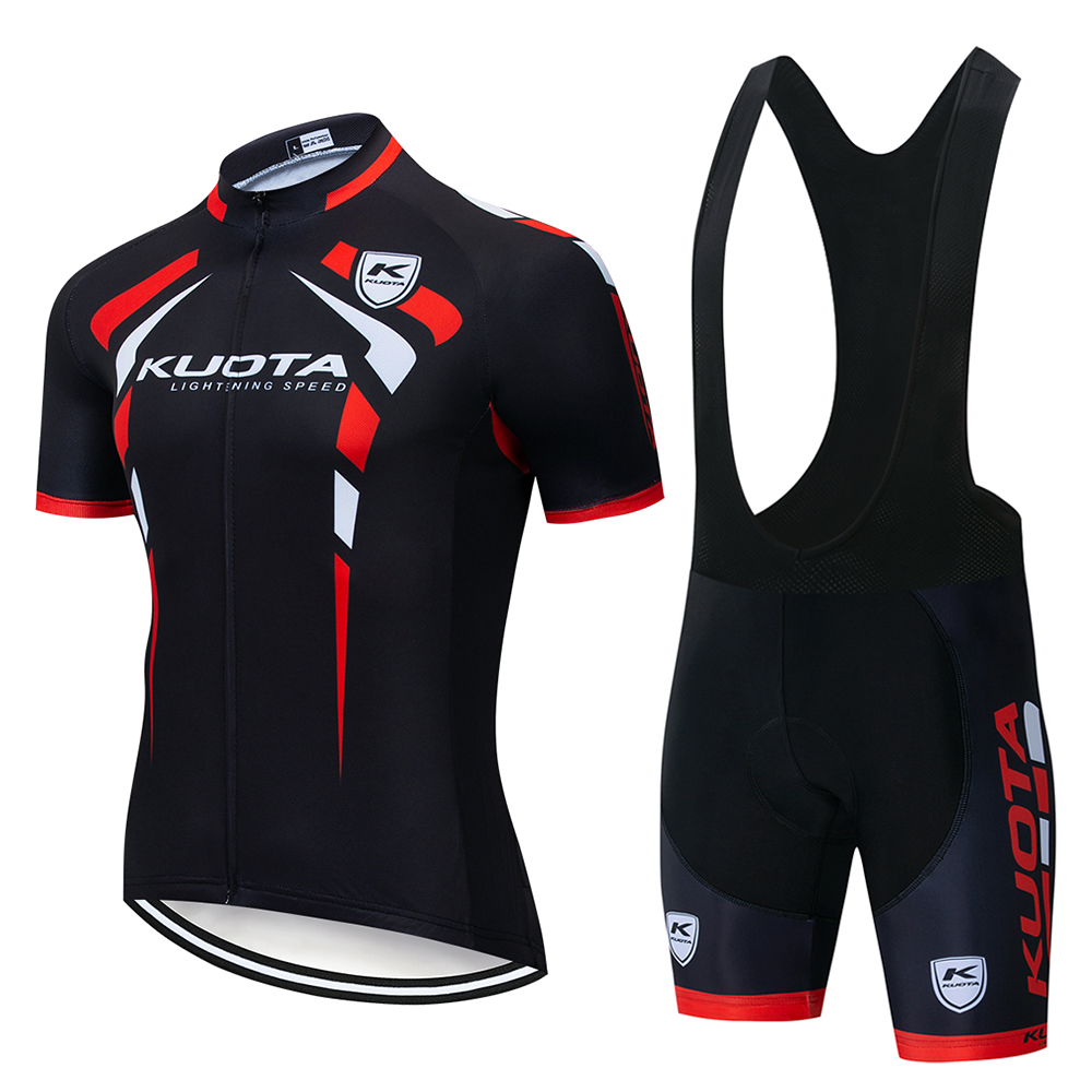 NEW! cycling jersey 2019 pro team KUOTA cycling clothing+9D gel pad bike MTB Ropa Ciclismo mens summer bicycle wear Maillot set