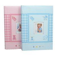6 Baby Memory Book Photo Album Creative Modern Photo Album Keepsake Journal For Baby Pink And Bule