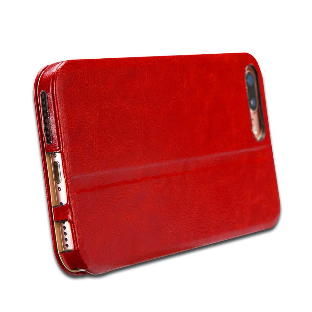 Jisoncase Fall für iPhone 7 7 Plus Flip Smart Cover PU Leder Magnetische Handy Fällen für iPhone 7 Fall für iPhone 7 Plus