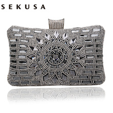 Acrylic Women Handbags Diamonds Clutch Evening Bags Messenger Shoulder Bags For Wedding/Party/Dinner Small Day Clutches