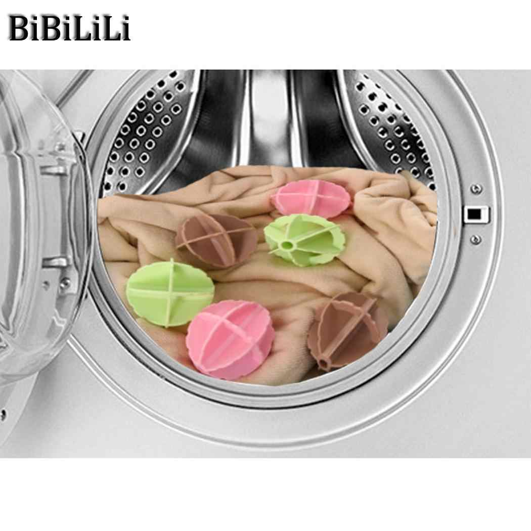Machine Cleaning Cloth Ball Washing Machine Ball Wash Laundry Dryer Fabric Soften Helper Cleaner Washing Removal Stain