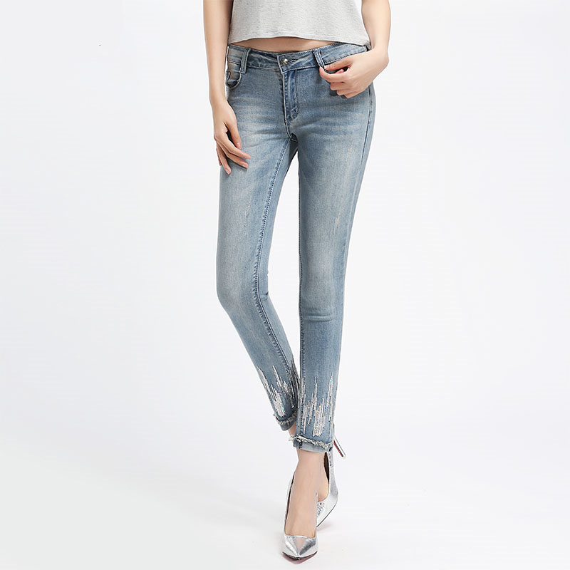 Las Denim Jean Pantalones Del Mujeres Cintura Jeans Tamaño 6xl Dark Blue Mezclilla Plus Lápiz 4xl Alta Longitud La De Tobillo Cropped Xs Mujer qgWTxOU