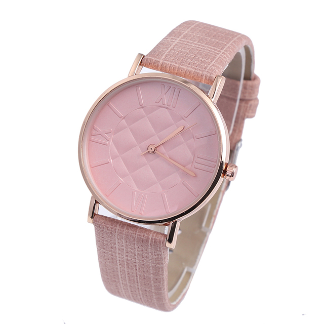 BGG простая сетка Циферблат Дамы Повседневное часы мода женское платье часы женские кожаные кварцевые наручные часы часов relojes