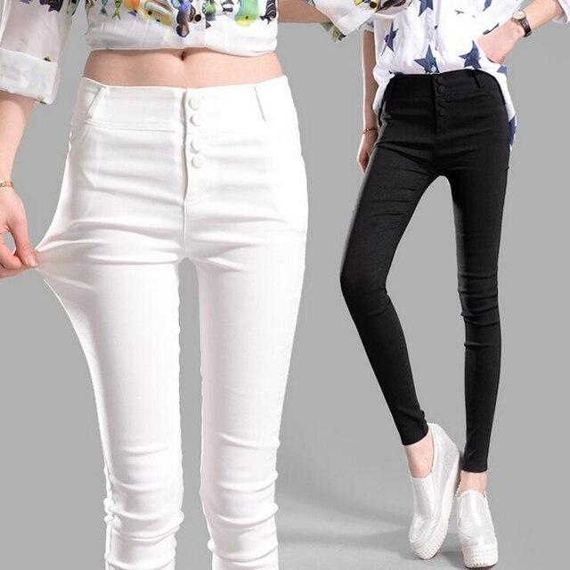 Jeans For Women 2017 Denim Trousers Woman High Elasticity Women's Jeans Femme Pencil Skinny Lady Jeans Pants Slim Plus Size XXXL