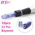 10PCS Electric Derma Pen Needles Bayonet 12 pin MYM Cartridge For Auto Microneedle Derma Pen 12 pin Dr. Pen Needle Tip