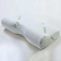 2016 High Quality Memory Foam Orthopedic Neck Soft Pillow Massager Fiber Slow Rebound Foam Travel Pillow