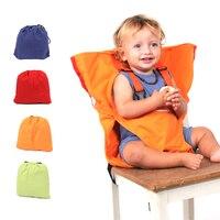 Cadeirinha de bebê dobrável em 4 cores  cadeirinha portátil para alimentar bebês  cadeirinha de segurança lavável em 4 cores