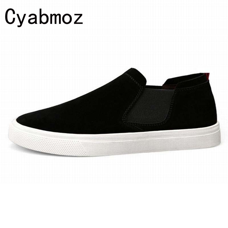 2017 Casual High Quality Men's Suede Leather Slip-on Loafers Flats Driving Shoes Fahion Mens Handmade Moccasins Zapatos Hombre fashion nature leather men casual shoes light breathable flats shoes slip on walking driving loafers zapatos hombre