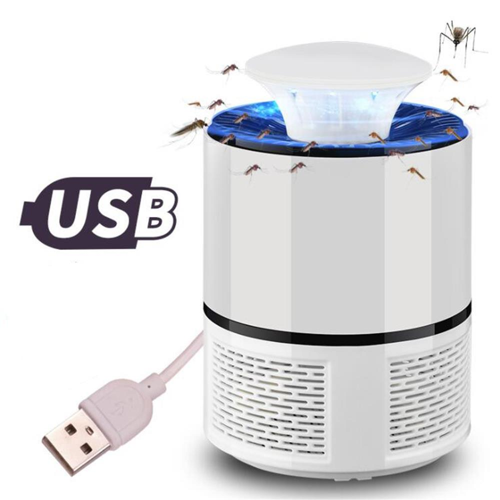 Anti mosquito led USB electric mosquito killer lamp UV night light anti fly mosquito zapper muggen killer insect trap for Living 5