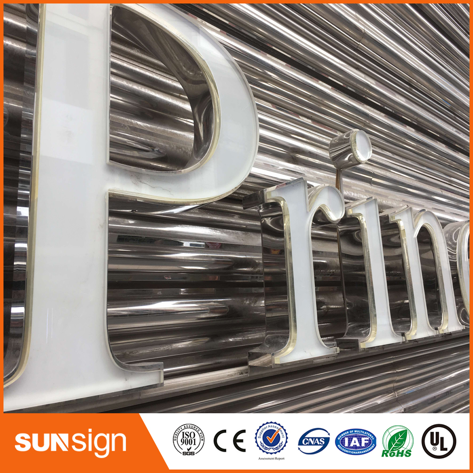 Customized Laser Cut No Light Plexiglass Letters