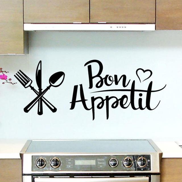 Black Wall Sticker for Kitchen