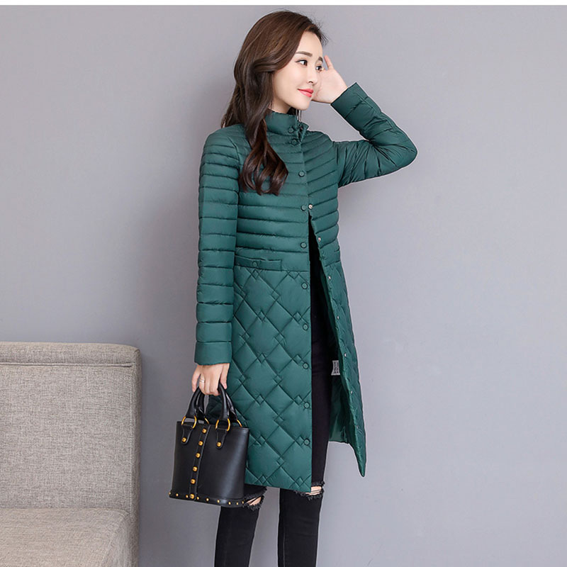 2019   Parkas   Female Women Winter Coat Thickening Cotton Jacket   Parkas   for Women Winter Long Thick Warm Cotton Outwear