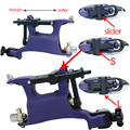 Pro SWASHDRIVE AZOTE G7 Mariposa Rotary Tattoo Machine Gun Purple Tattoo Kits Suministro de Agua Caliente