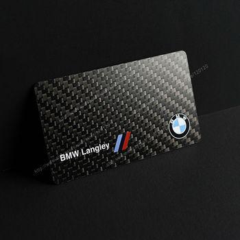 Carbon fiber business cards custom carbon fiber cards Design and production 1
