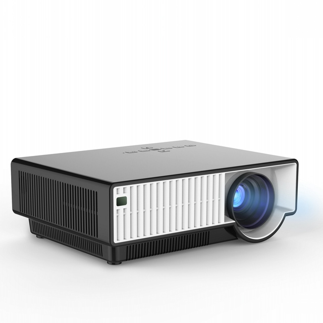 2800 Lumens 1080P 1280*800P Full HD Digital LED Projector with Android 4.4 1.5GHz 1GB RAM 8GB ROM and Wifi Bluetooth HDMI Port