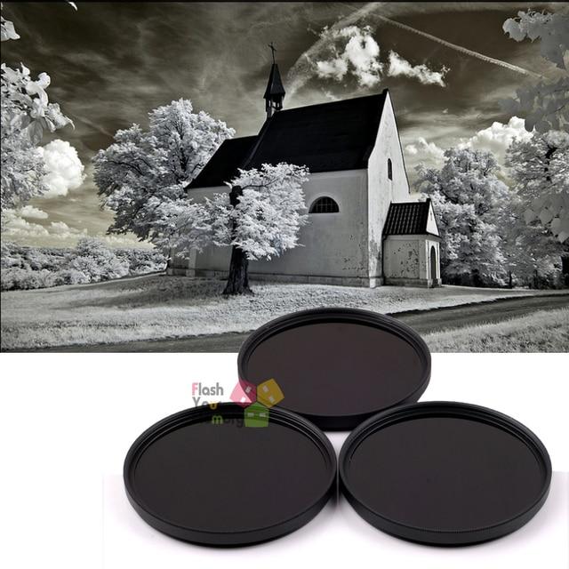 67mm 720nm+850nm+1000nm Infrared IR Optical Grade Filter for Canon Nikon Sony Pentax Fuji Camera Lenses