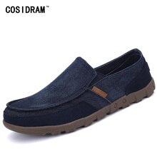 Más el Tamaño 45 46 47 Hombres Zapatos de Lona de Goma Antideslizantes En No de cuero Zapatos Casuales Zapatos de Ocio Zapatos de Conducción Gumshoe Plimsolls RME-220