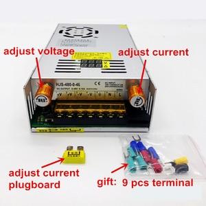 Image 4 - Pantalla digital de 480W fuente de alimentación conmutada Límite de corriente de tensión regulable 0 5v 12v 24V 36V 48V 60v 80V 120v 220v, 24v 20A