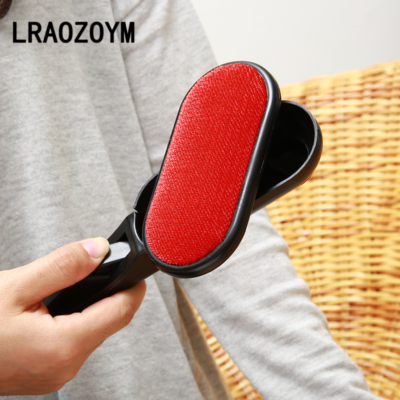 LRAOZOYM New Cleaning Brush Fashion Hot High Quality Magic Lint Dust Pet Hair Static Remover Brush Clothing Rotatable