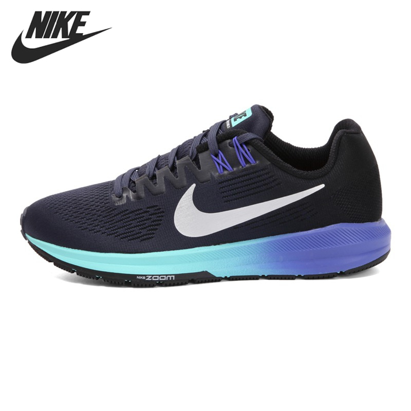 grand choix de 6e3ca bd479 US $140.63 22% OFF|Original New Arrival 2018 NIKE AIR ZOOM STRUCTURE 21  Women's Running Shoes Sneakers-in Running Shoes from Sports & Entertainment  on ...