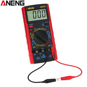ANENG Digital Multimeter Voltage-Current-Resistance AN8301 Lcd-Display Capacitance Portable