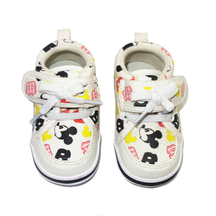 Disney Mickey Minnie Baby Shoes Ultra Light Non-slip Baby Toddler Shoes Boys And Girls Casual Shoes