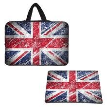 Viviration Hot Neoprene Shockroof Bag Case+Rubber Anti-slip Slim Mat Mousepad For 10 10.1 12 11.6 13
