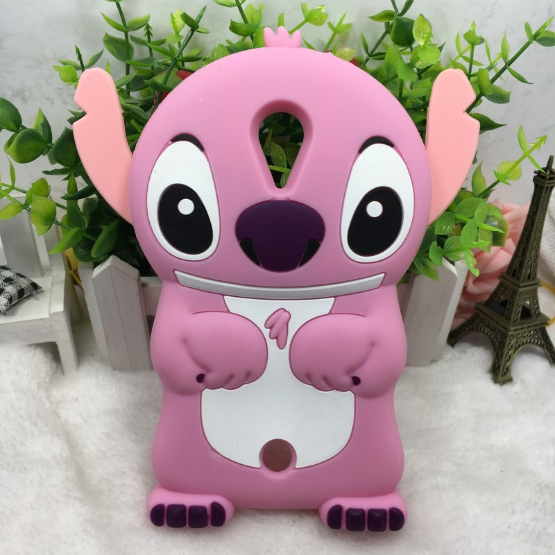 3D Cartoon Stitch Soft Silicon Cover Phone Case For Wiko Rainbow Jam Lenny 2 3 Sunset Fever Pulp Fab 4G Tommy Freddy