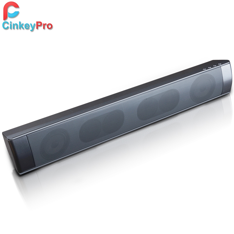 ФОТО CinkeyPro Wireless Bluetooth Speaker Computer TV Sound Bar Home Theatre System Portable Subwoofer Tweeter Audio Sound