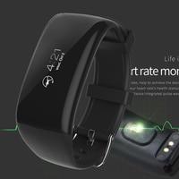 Heart Rate Monitor Smart Wristband Bracelet Sports Bluetooth Fitness Pedometer Wrist Band LED Smart Watch Intelligent Men Clock