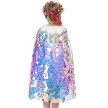 Girls Trench Cloak Coat Children Mermaid Elsa Anna Cinderella  Rapunzel Costumes Girls Accessory Kids Mantle Cape Jacket 3-10 yr цена