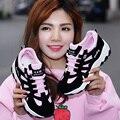 2017 Новый Список Горячей Продажи моды марка Дышащий холст женщины повседневная обувь Теплые ботинки женщин