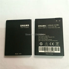 Mobile phone battery 2450mAh UHANS A101 A101S Phone High capacity Long standby Test normal use before shipment