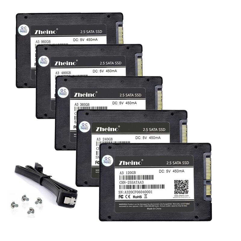 Zheino SSD SATAIII 120 GB 240 GB 360 GB 480 GB 960 GB 128 GB 256GB 512 GB 32 GB 64 GB 60 GB 2,5 pulgadas interna de unidad de estado sólido