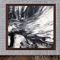 Large murals hand painted black and white and this tree hotel decorated lobby sofa porch abstract painting the coffee shop and t
