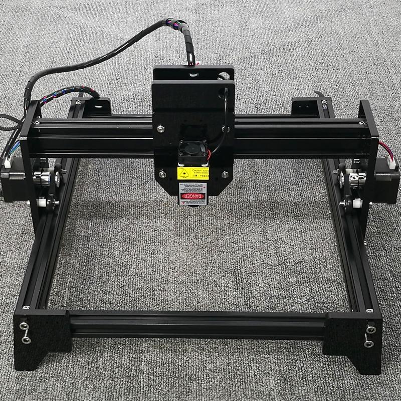 DIY laser engraving machine comes standard with blue-violet laser 2000mw miniature engraving machine marking machine Mini
