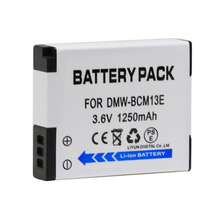 DMW-BCM13E BCM13E BCM13 BCM13PP Replacement Camera Battery for Panasonic Lumix DMC ZS30 TZ40 TZ41 TS5 FT5 Batteries bateria
