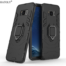 For Samsung Galaxy S8 Plus Case Cover for Samsung Galaxy S8 Plus Finger Ring Phone Case PC Armor Case For Samsung Galaxy S8 Plus