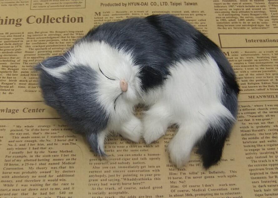 Štiri barvne neobvezna simulacija krzno živali mačka nap super - Dekor za dom - Fotografija 2