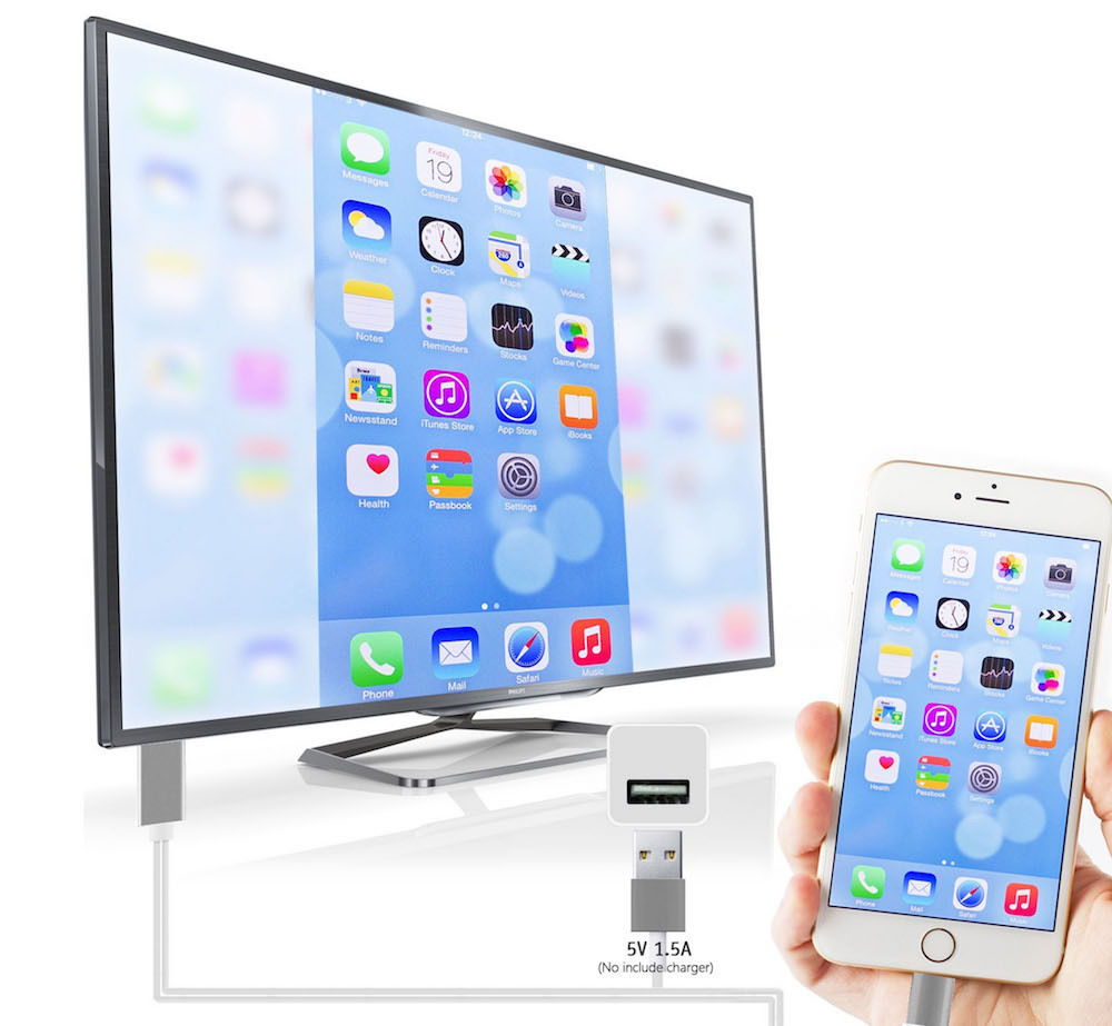 Hdmi Cord For Iphone  Plus To Tv