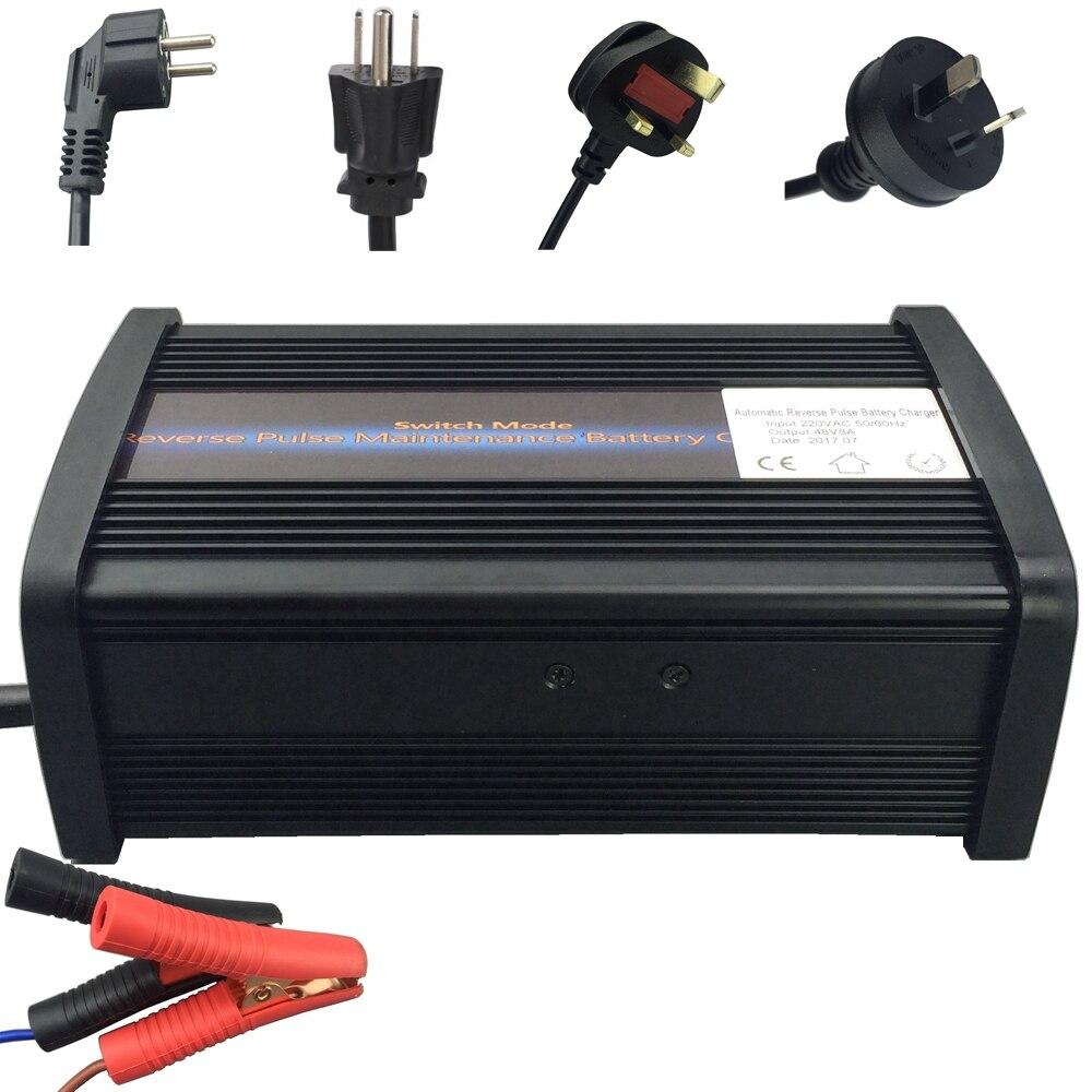 Garantie 2 ans Puissant 12 v 20A Véhicule Batterie Chargeur 7-stade Responsable Desulfator pour AGM GEL 12 v batteries 50-240AH