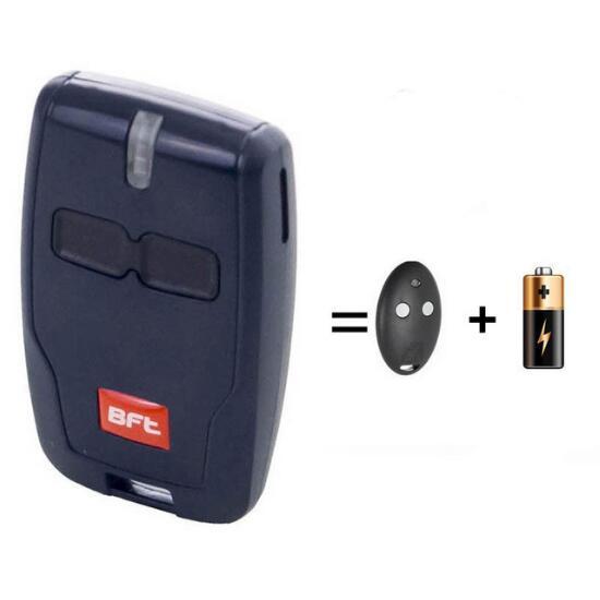 BFT MITTO B2 B 2 RCB02 R1 gate key fob remote control 433,92 MHz