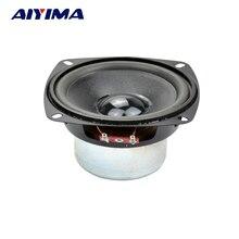 AIYIMA 1 UNIDS Audio Subwoofer 4 pulgadas 30 W 8 ohmios Woofer de Rango Medio Para Bass Altavoz de la Computadora